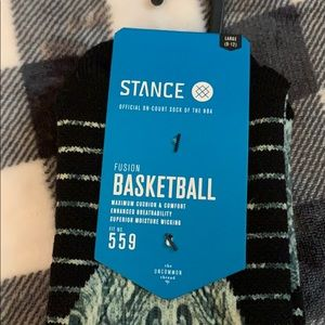 NWT Men's Stance Fusion Basketball Socks